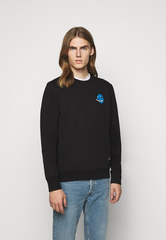 Sweater - black/blue