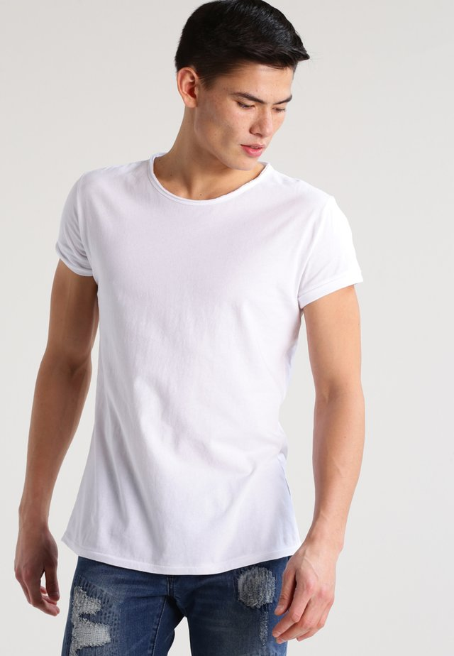 MILO - T-shirt basic - white