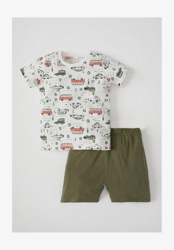 2 SET - Shorts - ecru