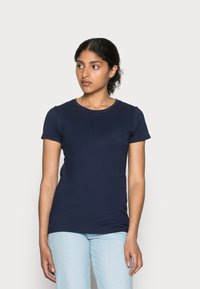GAP - CREW - T-shirt basic - navy uniform - 0