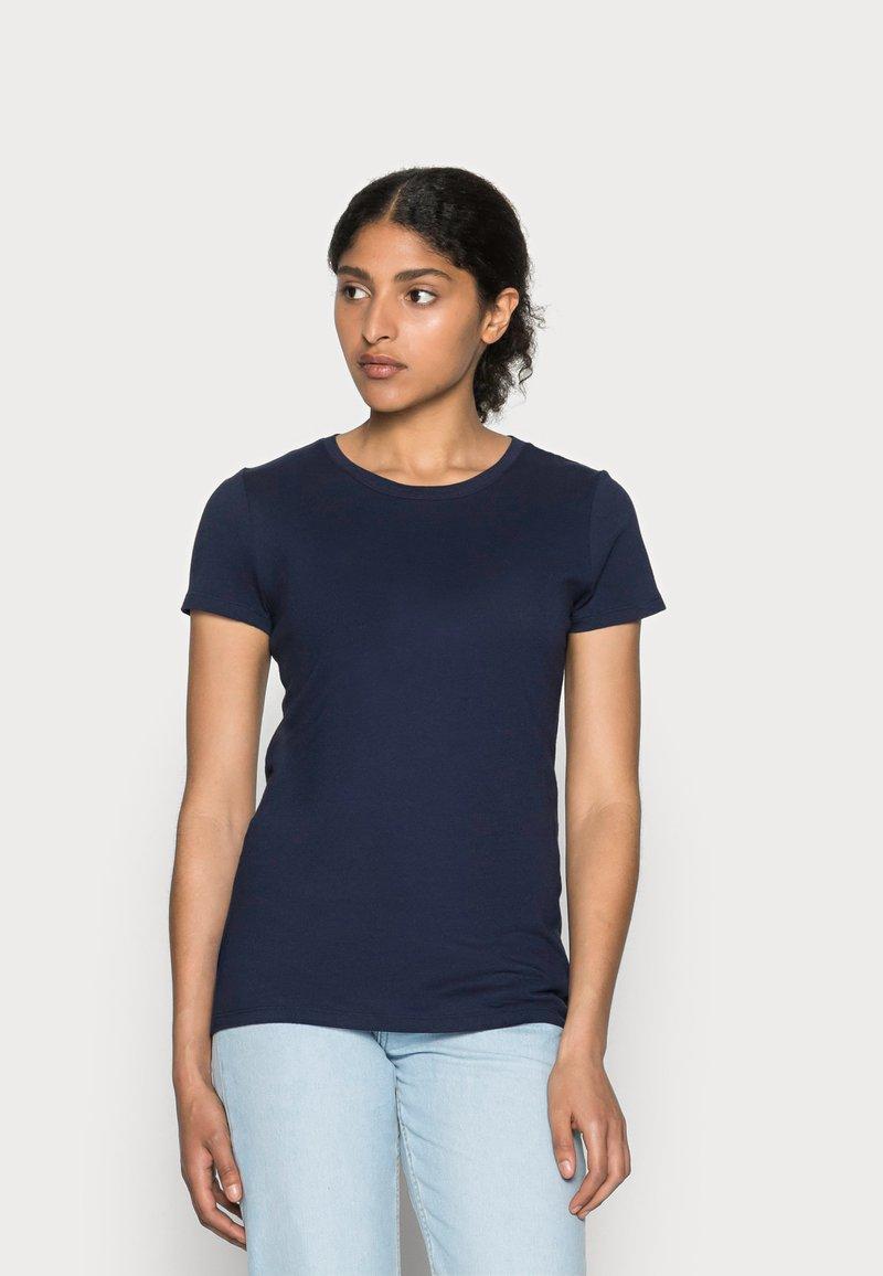 GAP - CREW - T-shirt basic - navy uniform
