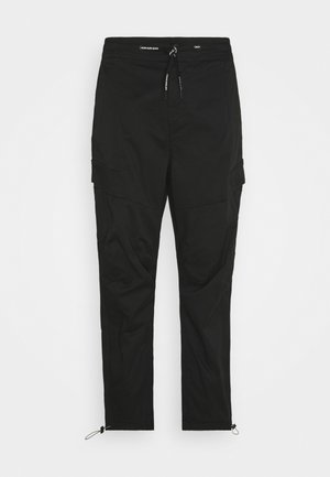 TECHNICAL - Cargo trousers - black