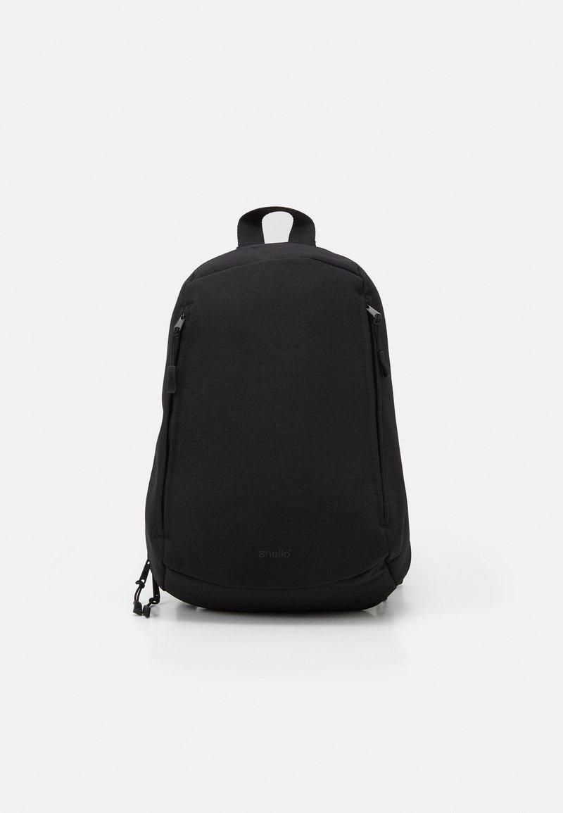 anello - ONE STRAP BAG SLOUCHY - Batoh - black