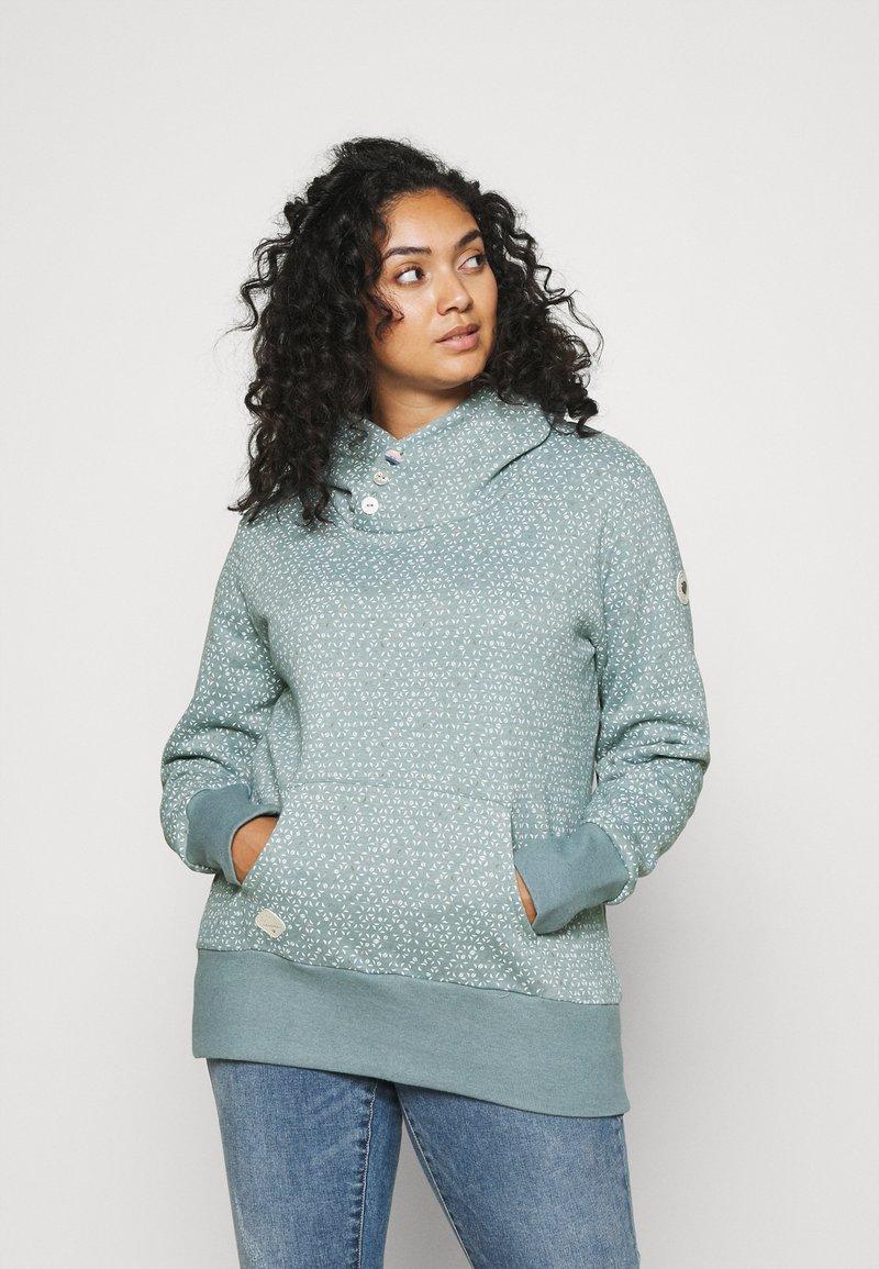 Ragwear Plus - CHELSEA - Sweatshirt - dusty green