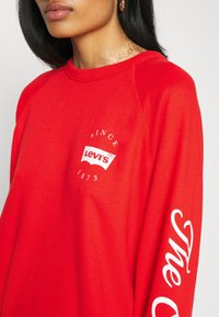 Levi's® - GRAPHIC EVERYDAY CREW - Sweater - poppy red - 5