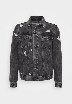 BARNEY JACKET - Denim jacket - mid grey
