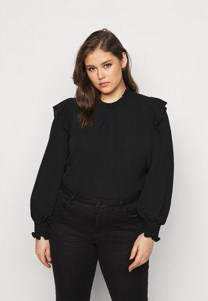 PCRIE - Langærmede T-shirts - black