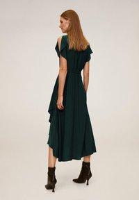 Mango - VERDENA - Day dress - smaragdgrün - 1