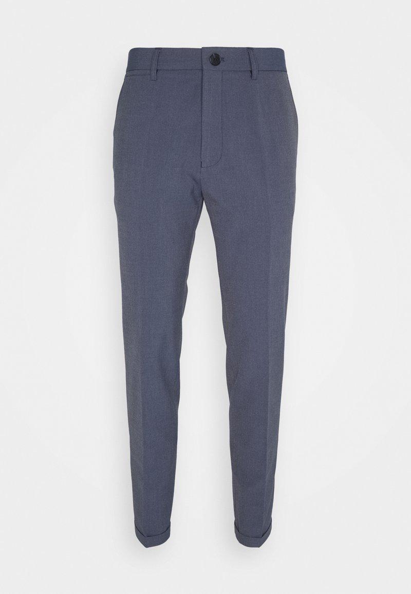 Matinique - LIAM - Kalhoty - dust blue melange