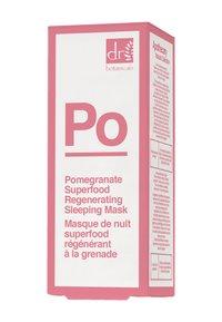Dr Botanicals - POMEGRANATE SUPERFOOD REGENERATING SLEEPING MASK 30ML - Face mask - - - 1