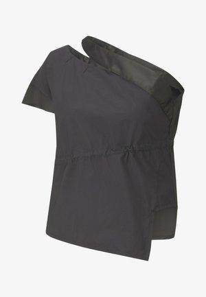 Blouse - cotton black
