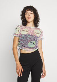 NEW girl ORDER - OUT OF THIS WORLD ALIEN - T-shirt con stampa - multi - 0