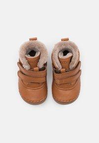 Froddo - PAIX WINTER SHOES WIDE FIT UNISEX - Baby shoes - cognac - 3