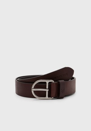 CLASSIC ROUND D-RING - Belt - bitter brown