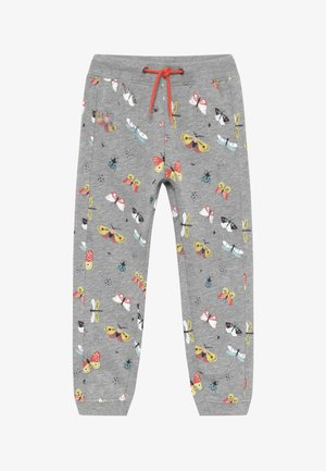 KIDS BUTTERFLIES - Tracksuit bottoms - mittelgrau