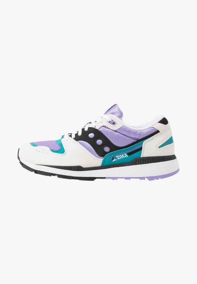 AZURA - Sneakersy niskie - white/voilet/capri