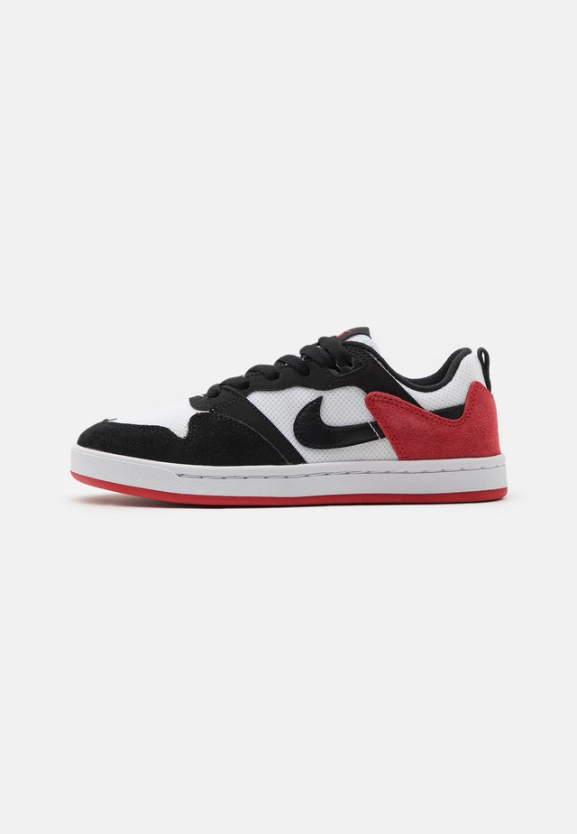 ALLEYOOP UNISEX - Sneakers - white/black/university red