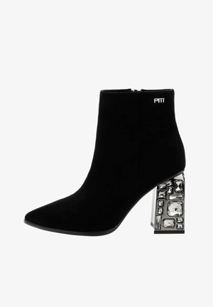 BALZO - High heeled ankle boots - black