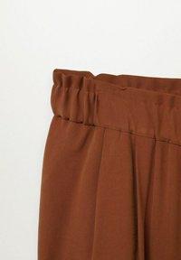Violeta by Mango - KENIA - Trousers - bräunliches orange - 5