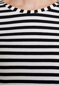 Esprit Collection - STRIPED - Long sleeved top - black - 6