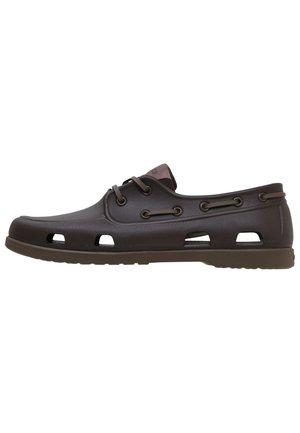 Boat shoes - espresso/walnut