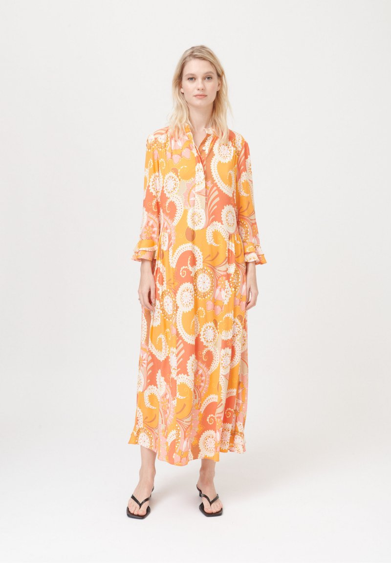Dea Kudibal - ROSANNA  - Day dress - khanga orange
