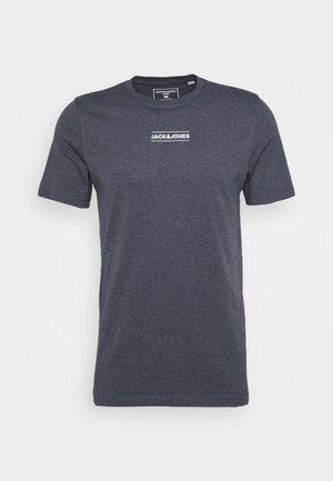 JCOTULIP TEE - T-shirt con stampa - navy blazer melange