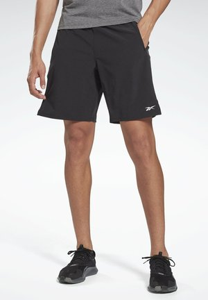 SPEED SHORTS - Sports shorts - black