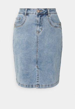 SKIRT - Denim skirt - snow washed denim