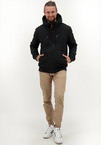 alife & kickin - DON - Winter jacket - moonless - 1