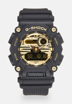 GA-900 UNISEX - Zegarek cyfrowy - black/gold-coloured