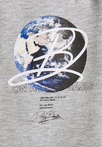 Daily Basis Studios - GLOBE UNISEX - Tracksuit bottoms - grey marl - 2