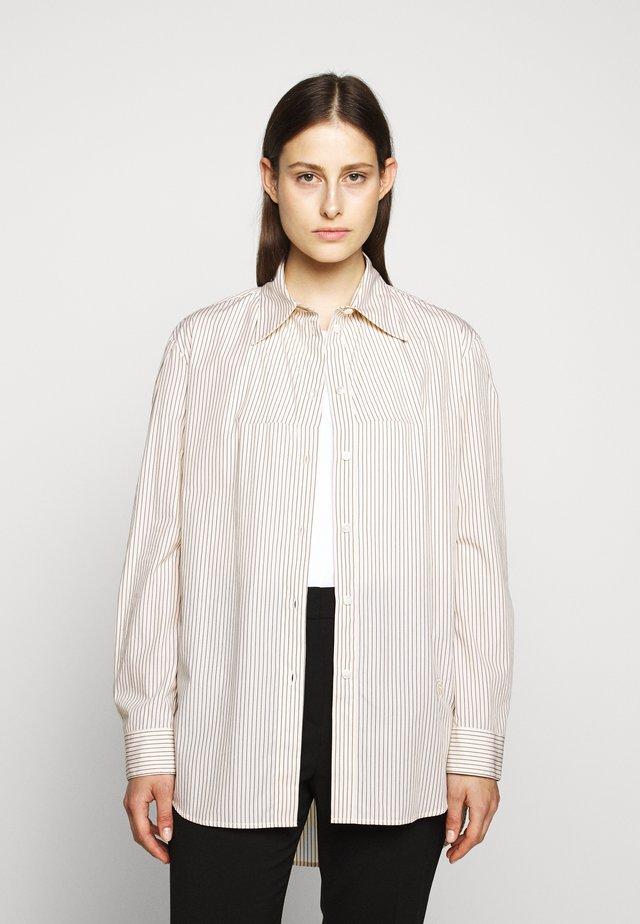 CLASSIC STRIPE - Button-down blouse - pale rose