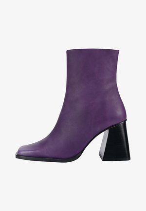 Classic ankle boots - lilac