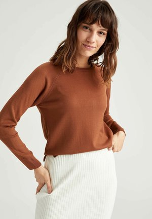 Strickpullover - brown