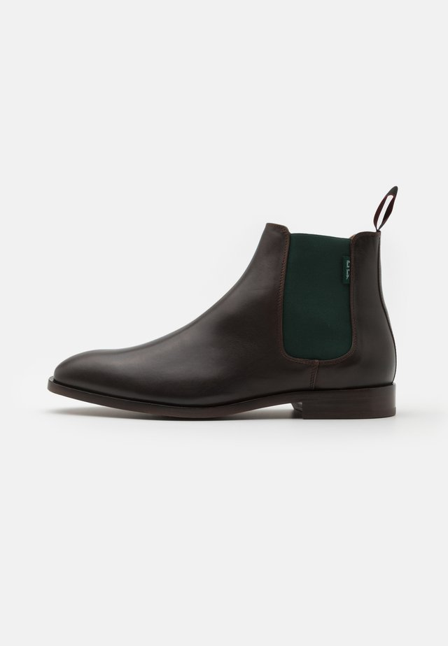 GERALD - Classic ankle boots - chocolate
