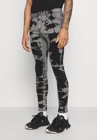 Brave Soul - Jeans Skinny Fit - grey/black wash - 0