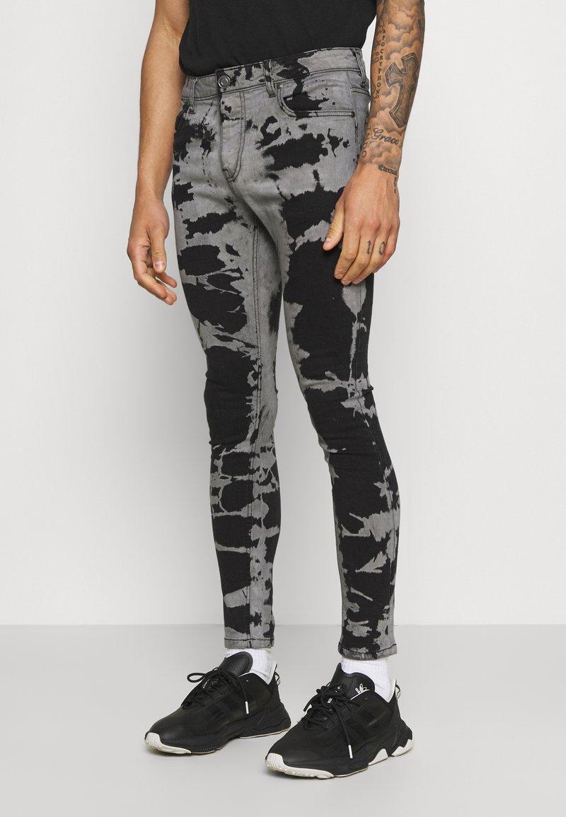 Brave Soul - Jeans Skinny Fit - grey/black wash