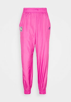 Tracksuit bottoms - pink foil/hot lime/white/sapphire