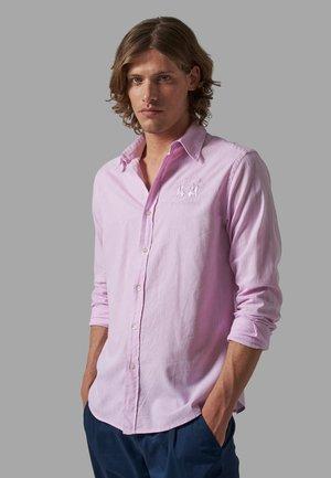 Shirt - sheer lilac