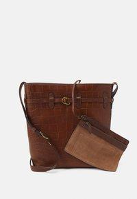 Polo Ralph Lauren - CROC SET - Across body bag - cuoio - 3