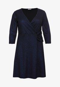 Sheego - Cocktail dress / Party dress - schwarz-blau - 4