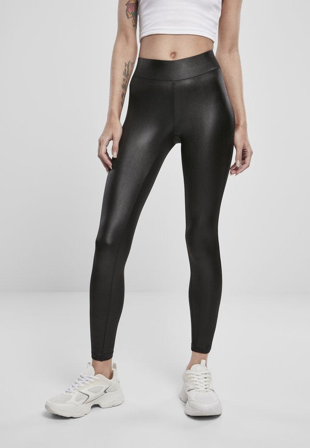 Leggings - Trousers - black