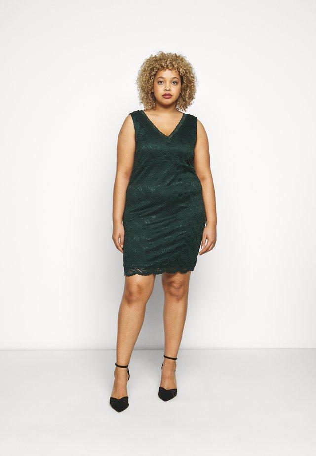 VMJANNE DRESS - Shift dress - pine grove