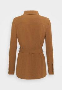 Pinko - GRAZIOSO CAMICIA FLUIDO - Button-down blouse - brown - 1