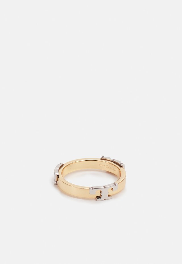 SERIF-T STACKABLE METAL RING - Ring - gold-colored mixed