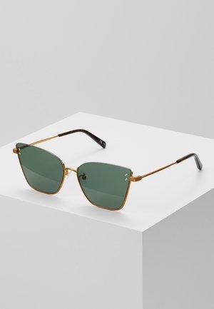 Zonnebril - gold-coloured/green