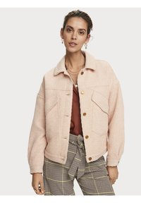 Scotch & Soda - Winterjas - light apricot melange - 3