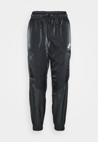 Nike Sportswear - AIR PANT SHEEN - Trainingsbroek - black/white - 3