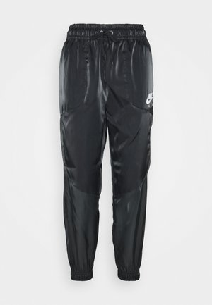 AIR PANT SHEEN - Pantalones deportivos - black/white